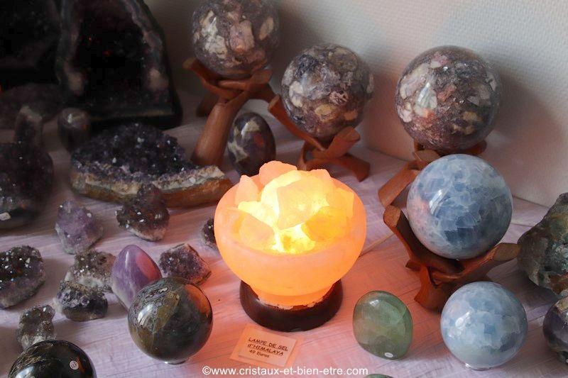 Lithothérapie Gironde cristal de sel